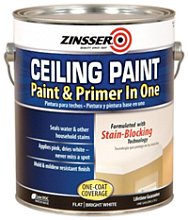 ZINSSER Ceiling Paint - Paint and Primer in One 260967 Краска для потолка